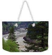 Fraser River British Columbia Weekender Tote Bag