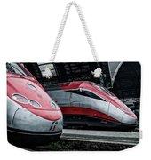 Freccia Rossa Trains. Weekender Tote Bag