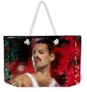 Queen Freddie Mercury Weekender Tote Bag