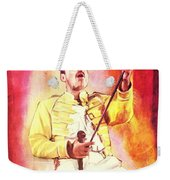 Freddy Mercury Weekender Tote Bag