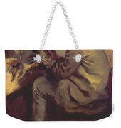 Frederic Bazille Painting The Heron 1867 Weekender Tote Bag
