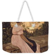 Frederic Bazille   The Pink Dress Weekender Tote Bag