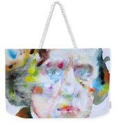Frederic Chopin - Watercolor Portrait Weekender Tote Bag