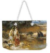 Frederick Arthur Bridgman 1847   1928 American At The Water S Edge Weekender Tote Bag
