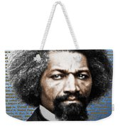 Frederick Douglass And Emancipation Proclamation Painting In Color  Weekender Tote Bag