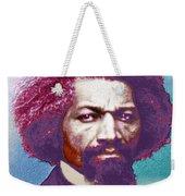 Frederick Douglass Painting In Color Pop Art Weekender Tote Bag