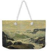 Frederick Judd Waugh 1861   1940 Coast Of Maine Weekender Tote Bag
