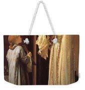 Frederick Leighton Light Of The Harem C  1880 Weekender Tote Bag