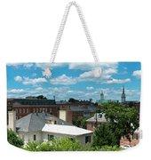 Fredericksburg Roof Tops Weekender Tote Bag