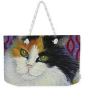 Fred's Cat Weekender Tote Bag