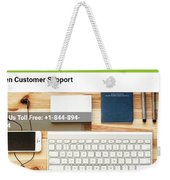 Free And Fast Quicken Customer Support Phone Number @ 1-844-894-7054 Weekender Tote Bag