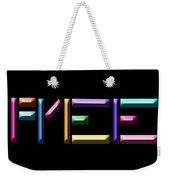 Free Weekender Tote Bag