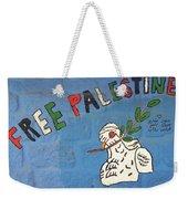 Free Palestine Peace Weekender Tote Bag