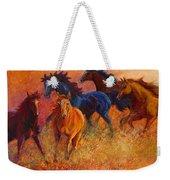 Free Range - Wild Horses Weekender Tote Bag