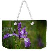 Free Ranging Wild Iris Weekender Tote Bag