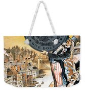 Free Silver Cartoon, 1890 Weekender Tote Bag