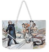 Free Silver Cartoon, 1895 Weekender Tote Bag