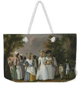 Free Women Of Color With Their Children And Servants In A Landscape Weekender Tote Bag