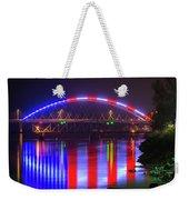 Freedom Bridge Weekender Tote Bag