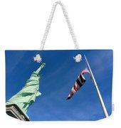 Freedom Flag Weekender Tote Bag