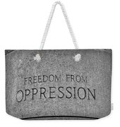 Freedom From Oppression Weekender Tote Bag