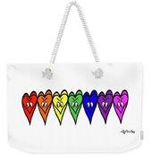 Freedom Is In The Rainbow Weekender Tote Bag