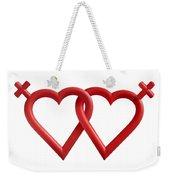 Freedom Love Weekender Tote Bag