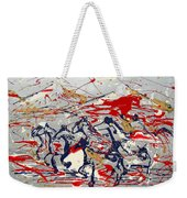 Freedom On The Range Weekender Tote Bag