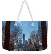 Freedom Tower Framed Weekender Tote Bag