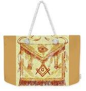 Freemason Symbolism Weekender Tote Bag