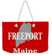 Freeport Maine State City And Town Pride  Weekender Tote Bag