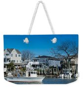 Freeport New York Bound For The Bay Weekender Tote Bag