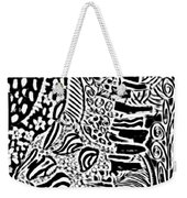 Freestyle 3 Abstract Weekender Tote Bag