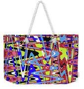 Freeway Of Colors Abstract Weekender Tote Bag