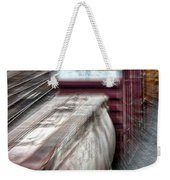 Freight Train Abstract Weekender Tote Bag