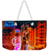 Fremont Street For One From The Heart Weekender Tote Bag