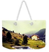 French Alps 1955 Weekender Tote Bag