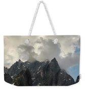 French Alps Peaks Weekender Tote Bag