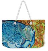 French Angle Fish Weekender Tote Bag