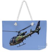 French Army Gazelle Helicopter Weekender Tote Bag