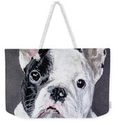 French Bulldog Close Up Weekender Tote Bag