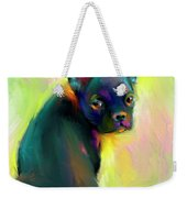 French Bulldog Painting 4 Weekender Tote Bag