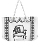 French Country Fauteuil Weekender Tote Bag
