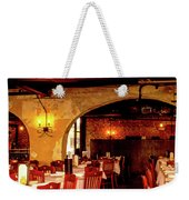 French Country Restaurant Weekender Tote Bag