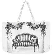French Country Sofa Weekender Tote Bag