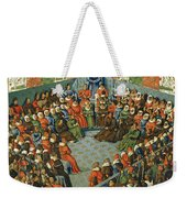 French Court, 1458 Weekender Tote Bag