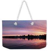 French Creek Sunrise Weekender Tote Bag