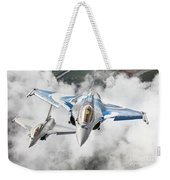 French Dassault Rafale Formation 1 Weekender Tote Bag