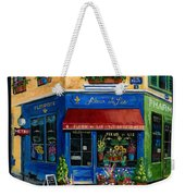 French Flower Shop Weekender Tote Bag