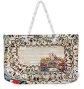 French Game Board, 1791 Weekender Tote Bag by Granger